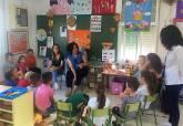 Visita concejala Educación colegio Los Urrutias