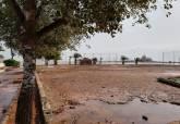 Desperfectos en instalaciones deportivas municipales por los efectos de la gota fría