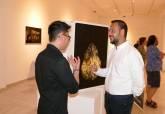 Inauguración de la exposición de Kihong Chung en el Palacio Molina