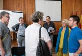 Visita de alumnos franceses al Edificio de la Milagrosa
