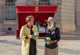 Mesa petitoria en beneficio de la Asociación Española Contra el Cáncer