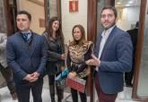 Reunión del consejero de Medio Ambiente y la consejera de Turismo de la Región de Murcia con los alcaldes de los municipios del Mar Menor