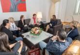 Reunión con la junta directiva de EAPN