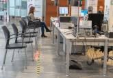 Medidas de prevención para prevenir contagios en los empleados municipales