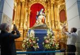 Recepción de la Virgen de la Caridad tras la restauración