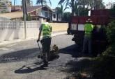 plan de reparación del firme en los barrios y diputaciones de Cartagena