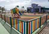 Parque infantil acondicionado en Los Urrutias