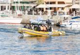 Reserva Marina de Cabo de Palos-Islas Hormigas, embarcación lancha