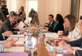 Foto de archivo del Consejo de Administración de Alta Velocidad de Cartagena en 2019
