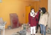 Visita a obras en La Palma y Los Barreros