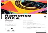 Cartel del Festival de Flamenco Eñe
