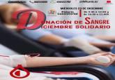 Cartel donación de sangre en el Palacio Consistorial 2020