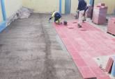 Obras de mantenimiento de colegios realizadas durante las vacaciones de Navidad