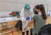 Vacunación en el polígono Cabezo Beaza.