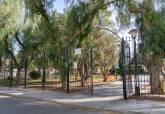 El remodelado parque de Antoñares en Los Barreros