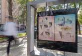 'Pintas o Dibujas'. Exposición en la Alameda de San Antón