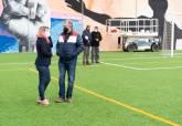 La Liga Comarcal de Fútbol Base de la era Covid echa a andar en Molinos Marfagones