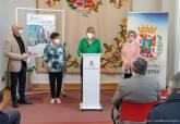 Presentación de la guía en el Palacio Consistorial.
