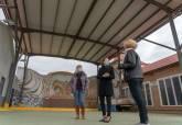 Visita de la alcaldesa a actuaciones municipales en El Algar