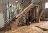 Visita obras a la casa Isaac Peral.