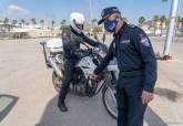 Curso de conducción policial.