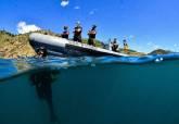 Buceadores del CBA en Cabo Tiñoso e Islas Hormigas.