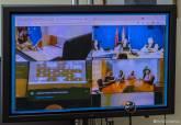 Reunión del Comité Asesor del Plan Inunmur por la previsión de fuertes lluvias