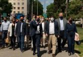 Manifestación en defensa del Trasvase en Madrid