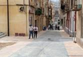 Obras en el Centro Histórico de Cartagena