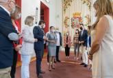 Reunión del Consejo de Gobierno de la Comunidad Autónoma en el Palacio Consistorial