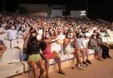 Público en el Auditorio Paco Martín durante la celebración de La Mar de Músicas