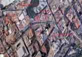 Plano de corte de tráfico en la calle Jara