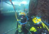 Reparación del emisario submarino de Cabo de Palos