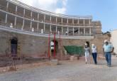 Las obras para la apertura al público del Anfiteatro Romano avanzan a buen ritmo