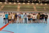 La selección española de hockey en línea se concentra en Cartagena para preparar el Mundial