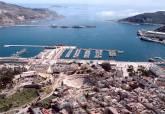 Vistas panorámicas del Teatro Romano y de Cartagena