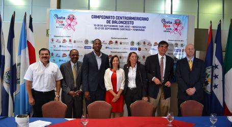 Cartago será sede del Campeonato Centroamericano de Baloncesto