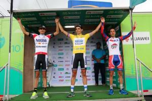 Andrey Fonseca es tercero en la Sub 23. Foto: FECOCI