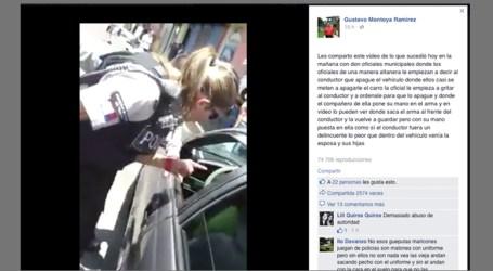 Municipalidad de Cartago afirma que chófer de video intentó darse a la fuga