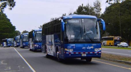 Horario de buses de Lumaca en navidad y fin de año