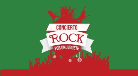 Asista y colabore en el concierto: Rock por un juguete