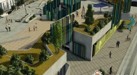 Inició la construcción del Centro Cívico en Cartago