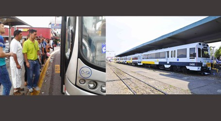Horario de trenes y autobuses hacia San José