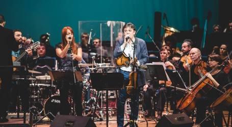 Malpais y la Orquesta Sinfónica hoy en la Plaza Mayor de Cartago