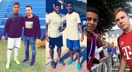 Jugador Xavi Hernández vio futuro en joven futbolista cartaginés