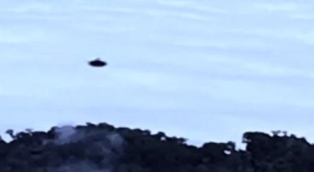 Fotografía capta ovni sobre cráter del Volcán Irazú