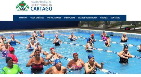 Comité Cantonal de Deportes cuenta con nueva página web