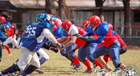 Leones de Cartago es subcampeón del fútbol americano