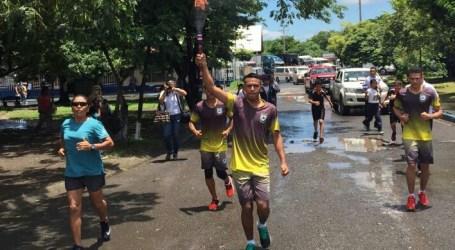Antorcha de la Libertad Centroamericana ya viaja por Costa Rica