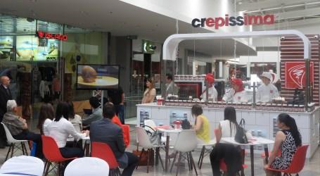 Crepissima abre local en Paseo Metrópoli